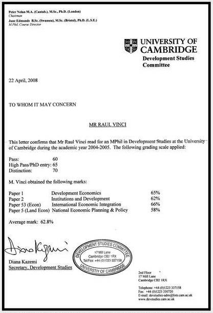 Rahul Gandhi Certificate