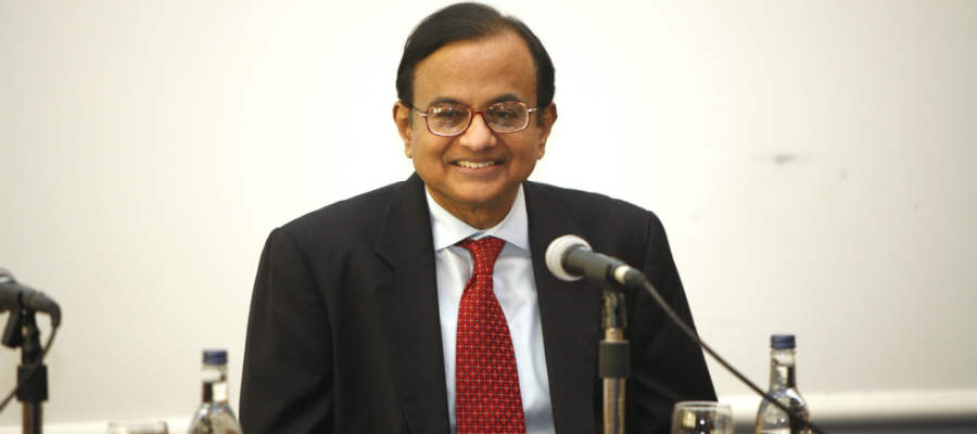Letter to Home Minister P Chidambaram