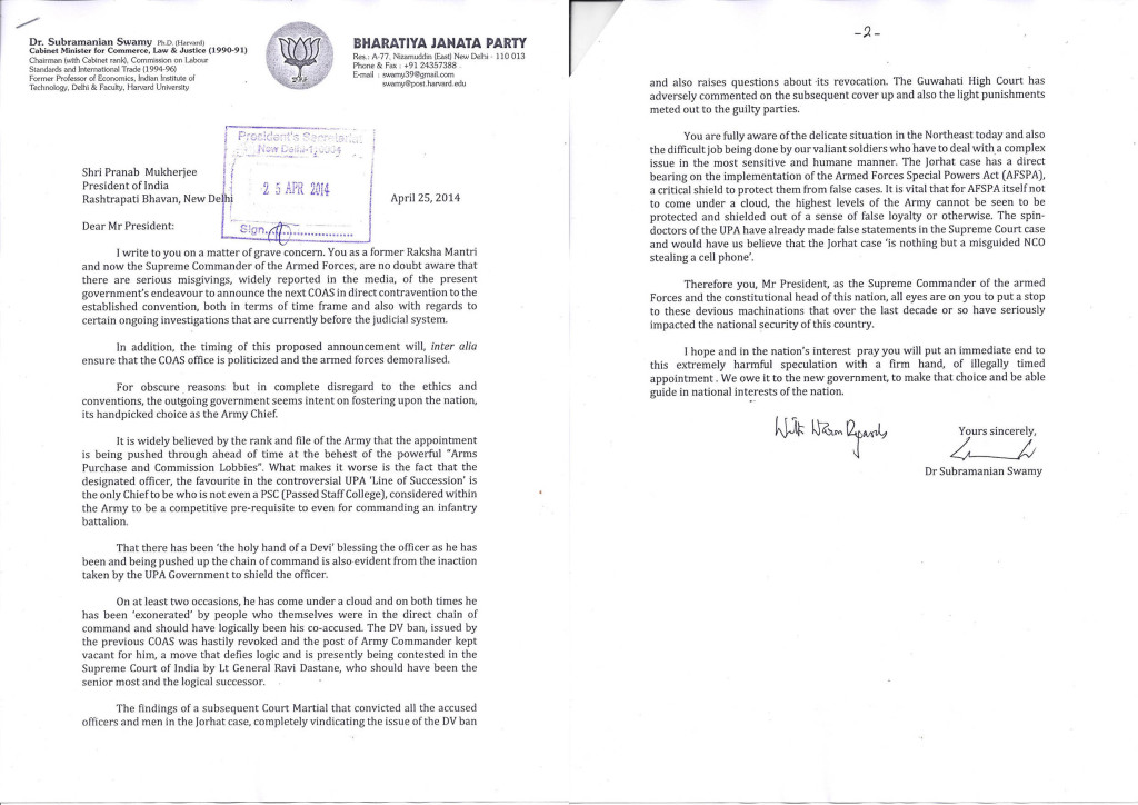 Swamy-Letter-to-Prez-on-Army-Chief