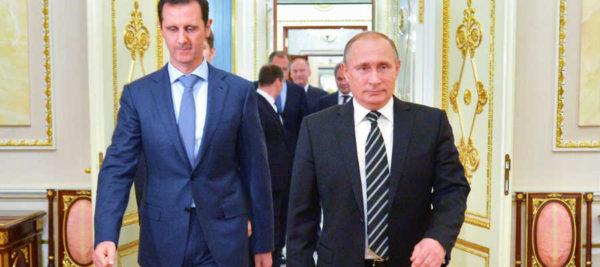 Bashar al Assad - Vladimir Putin