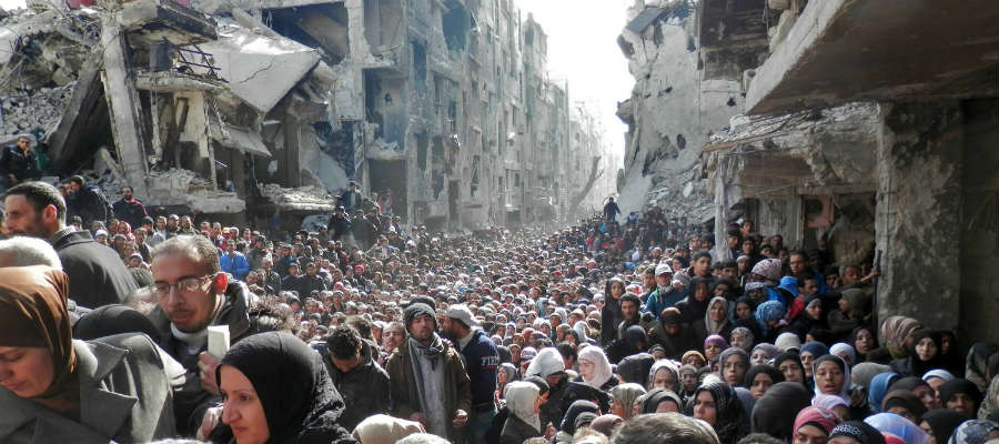Fair is foul and foul is fair in Syria